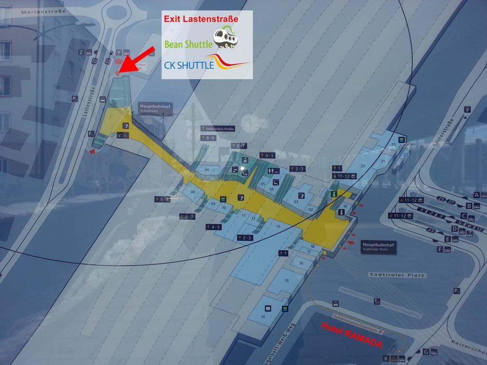 Salzburg to Cesky Krumlov for 800 CZK 30 EUR Bean Shuttle The